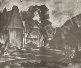 Gráber Margit - Wertheimi táj, 1922