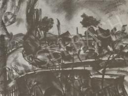 Gráber Margit - Tájkép, 1928
