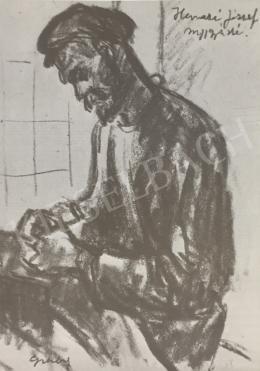 Gráber Margit - Szíjgyártó, 1948