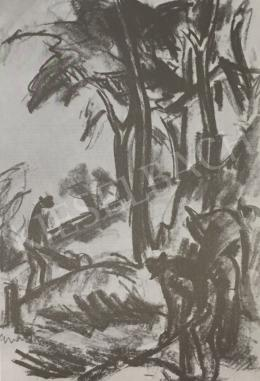Gráber Margit - Talicskázó, 1928 k.