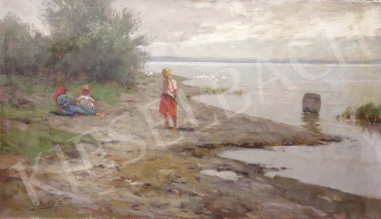 For sale  Edvi Illés, Aladár - Lake Balaton 's painting