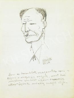 Kádár Béla - Önarckép