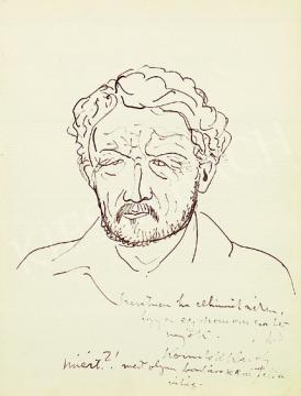Kernstok, Károly - Self-portrait | 17th Auction auction / 22 Item