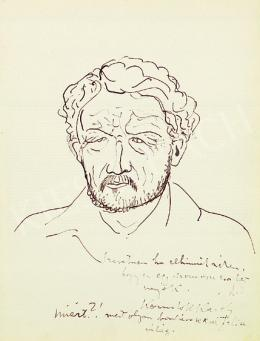 Kernstok, Károly - Self-portrait