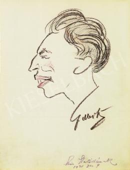 Gergely, Tibor - Self-portrait