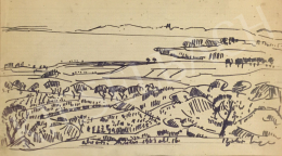 Batári, László - The View from Alsóörs, 1969