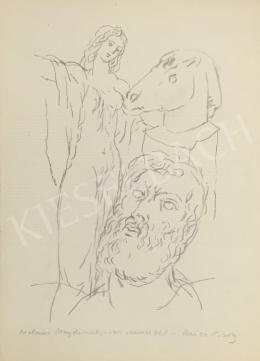 Reich Károly - A művész és múzsája