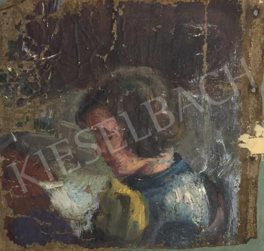Eladó Pituk József - Női portré festménye