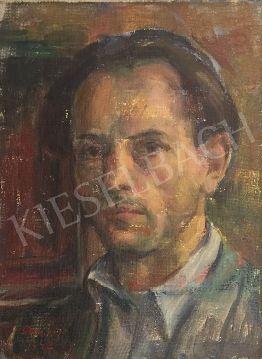 For sale Pituk, József - Portrait of a Man 's painting