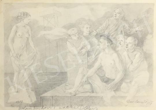 Eladó  Duschanek János - Jelenet festménye