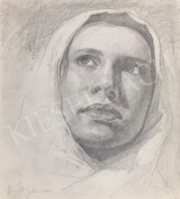 Horváth Gábor - Női portré, 2000