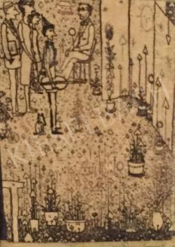 Gross Arnold - Ünneplés festménye