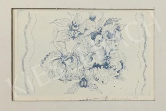 Eladó Ábrahám Rafael - Virágkompozíció festménye