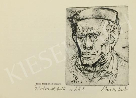 Eladó  Bencze László - Önarckép festménye