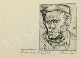 Bencze, László - Self Portrait