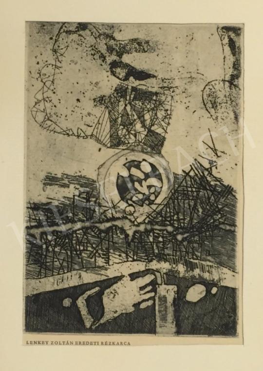 Eladó  Lenkey Zoltán - Kompozíció festménye