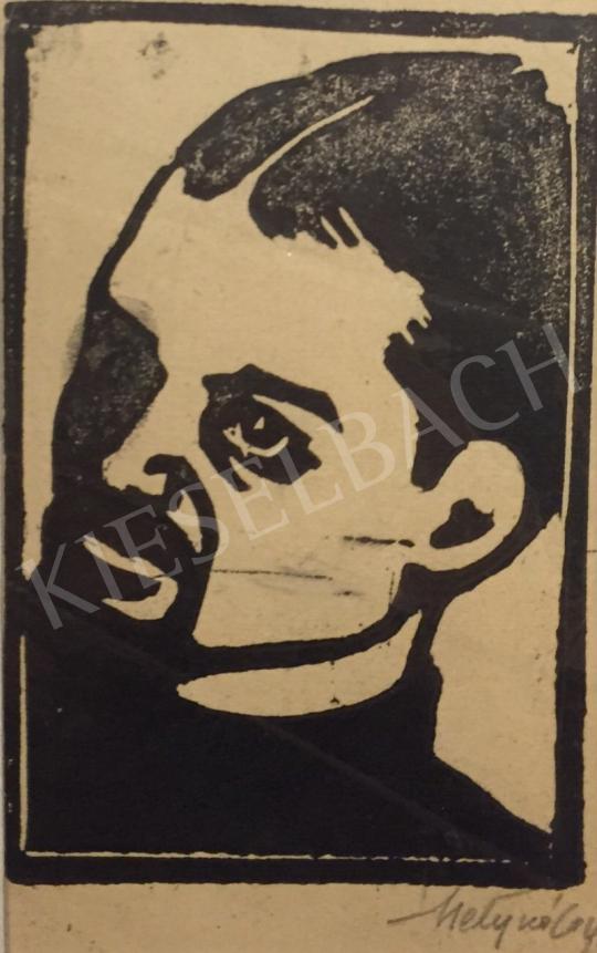 For sale  Metykó, Gyula - Self Portrait 's painting
