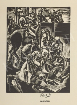 Pituk, József - Fleeing