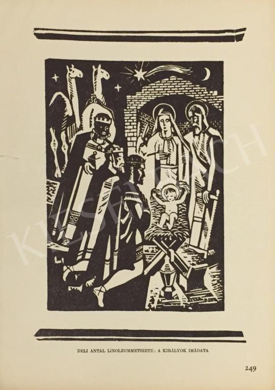 Eladó Deli Antal - A királyok imádata festménye