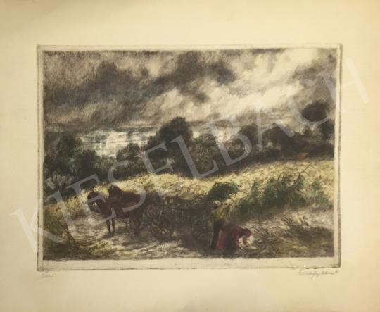 Elekfy Jenő - Ősszel festménye