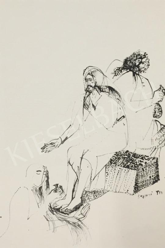 Eladó  Bazsonyi Arany - Magdolna, 1984 festménye