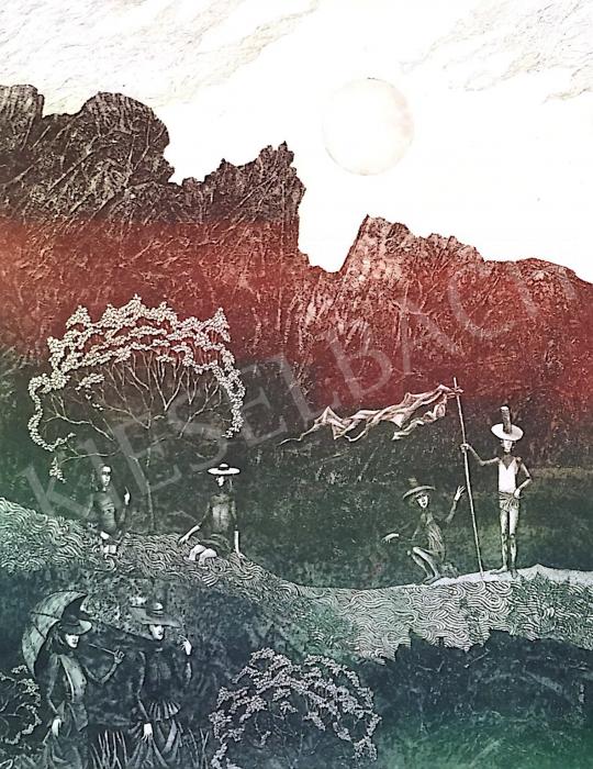 Eladó Egresi Zsuzsa - Találkozások a forrásnál festménye