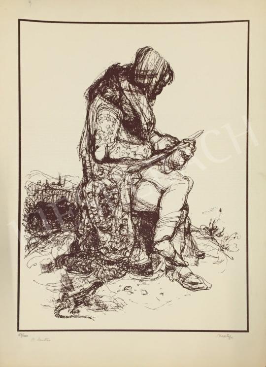 Eladó Martyn Ferenc - A lantos festménye