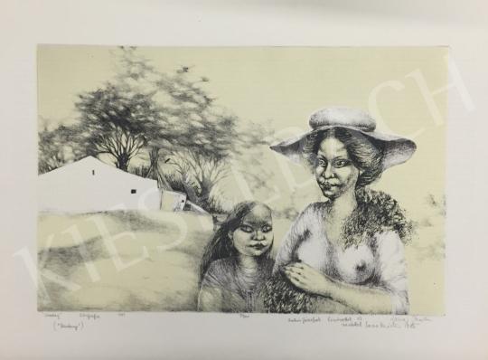 Eladó Lacza Márta, Dékányné - Vasárnap, 1981 festménye