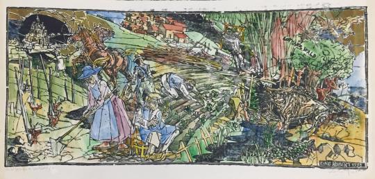 Eladó König Róbert - Aus der Geschichte von Deutschade festménye