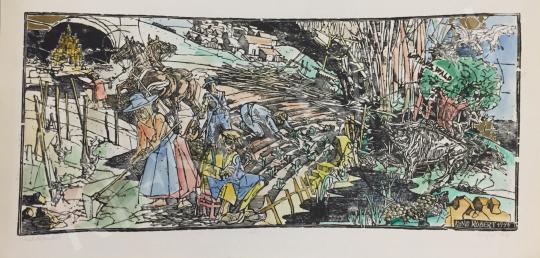For sale König, Róbert - The Beginning 's painting