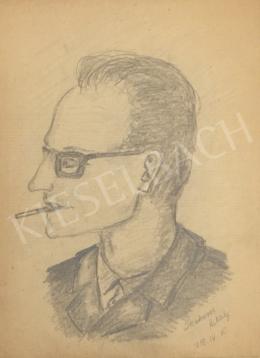 Szekeres Mihály - Rajz Molnár Józsefről, 1959