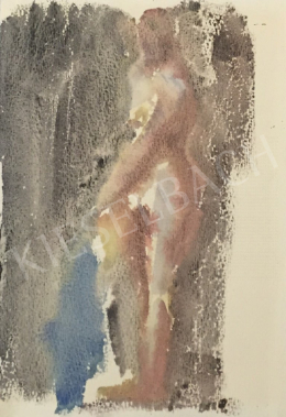István Húth - Standing Nude