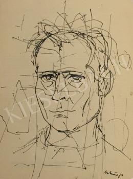 József Molnár - Self Portrait