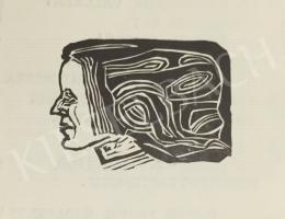Perei Zoltán - Női fej