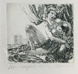 Máté Dolcsek - Léda with a Crow, 1998