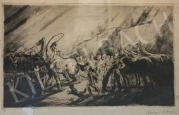 Szőnyi, István - Scene with Horses