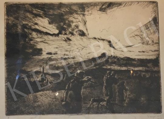 Eladó  Varga Nándor Lajos - Hazafelé, 1926 festménye