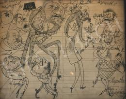 Ismeretlen művész Vigyázó Lacika szignóval -