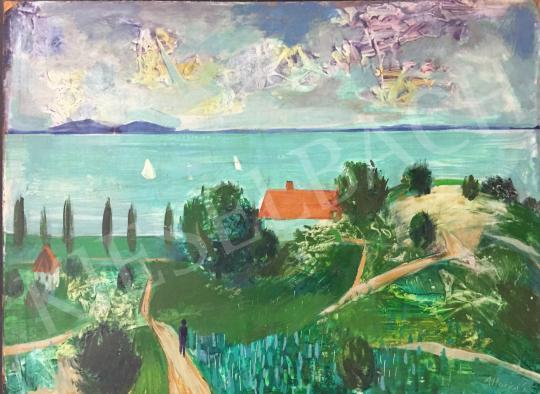 For sale Altorjai, Sándor - The Lake Balaton 's painting