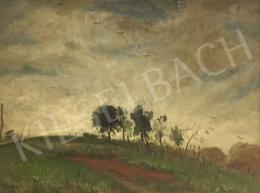 Rudnay, Gyula - Landscape with Clouds