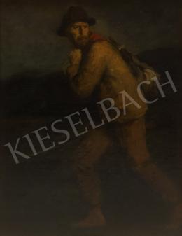 Glatz Oszkár - Kalapos fiú zsákkal