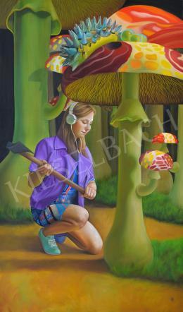 Naomi Devil - Madonna of the Mushrooms, 2017