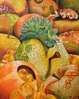 Naomi Devil - Temptation Orange-green, 2016