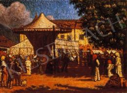 Mikola András - Nagybányai piactér