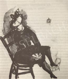 Anna Margit - Ülő nő