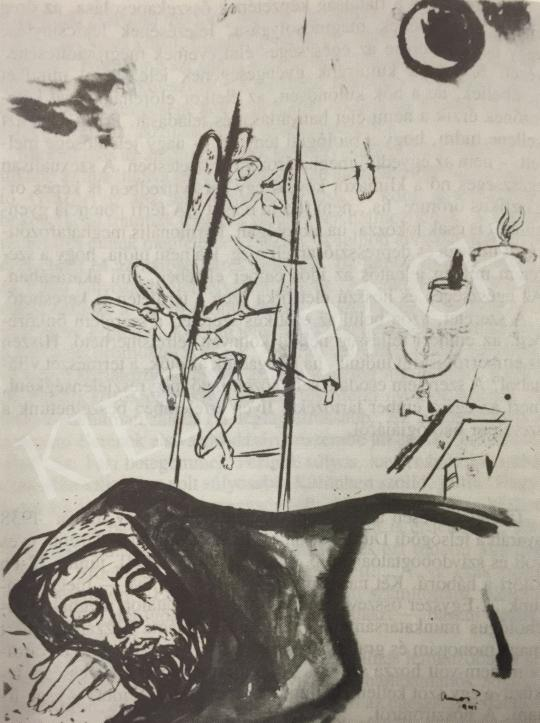 Ámos, Imre - Jakob's Dream, 1941 painting