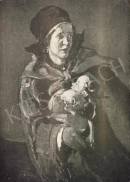 Rudnay, Gyula - Fleeing Woman