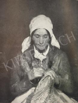 Rudnay Gyula - Himző nő