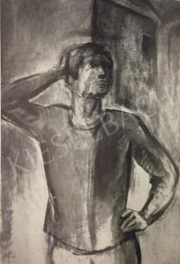 Egry József - Támaszkodó