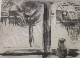 Egry József - Téli ablak